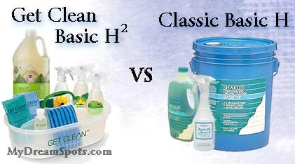 basic H and basic h2