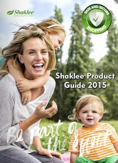 Shaklee product guide