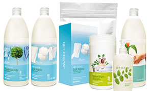 Shaklee laundry cleaning