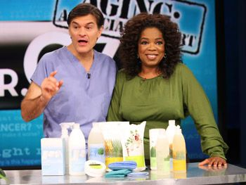 shaklee cleaning products with Oprah and Dr Oz